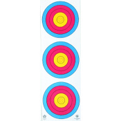 Maple Leaf NAA Official 3-Spot Color Target Vertical, 25/pk.