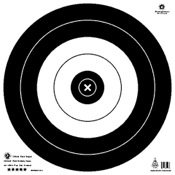 Maple Leaf NFAA Official Field Targets, 20 cm, 25/pk.