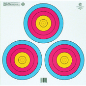 Maple Leaf NAA Official 3-Spot Color Target Triangle, 100/pk.