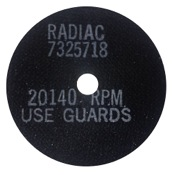 "National Abrasives Replacement Saw Blades - Easton, 4""-.050"", 3/pk., High RPM - Rough"