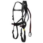 Gorilla G-Tac Air Safety Harness - Mens, 120-300lbs, Black