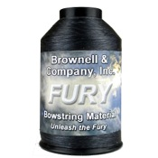 Brownell Fury String Material, 1/4 lb., Black