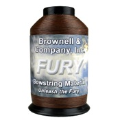 Brownell Fury String Material, 1/4 lb., Brown