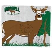 "Morrell Polypropylene Target Face - Whitetail, 28""x42"""