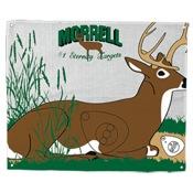 """Morrell Polypropylene Target Face - Bedded Buck, 28""""x42"""""""