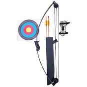 "SA Sports Panther Youth Compound Bow Set, 21"" Draw Length, 10lbs, RH"