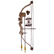 SA Sports Bison Youth Recurve Compound Bow Set, 20lbs, RH