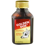 Wildlife Research Golden Doe All-Season Doe Urine, 1oz.