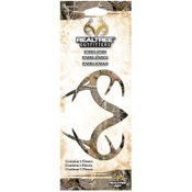 SPG Adhesive Plastic Emblem - Realtree Outfitters Camo, 2/pk., AP