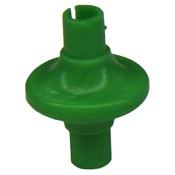Draves Komfort Kiss Kisser Button, 1/pk., Green