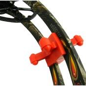 BowJax Revelation Split Limb Dampeners - 15/16, 2/pk., Red, Mathews/PSE/Bear