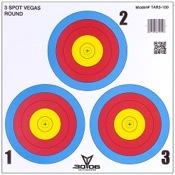 3006 3 Spot Vegas Target, 100/pk.