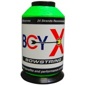 BCY X Bowstring Material, 1/4 lb., Flo. Green