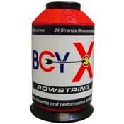 BCY X Bowstring Material, 1/4 lb., Red