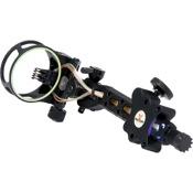 3006 KP Aluma 5 Pin Dovetail Precision Adjust w/Light, Black, 5 Pin .019, RH/LH