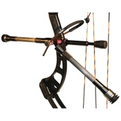 "AAE Hot Rodz Western Hunter Stabilizer Twin, 10""/8"", Black, RH"