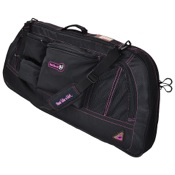 "GamePlan Shoot Like A Girl Bow Case, up to 40"", Black/Magenta"