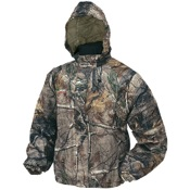 Frogg Toggs Pro Action Jacket - Camo, Lg, APX, Water/Wind Proof