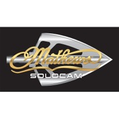 "DWD Mathews Broadhead Logo, 10""x5"", Gold/Gray"