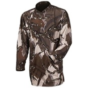 Predator Brown Poly Lightweight 1/4 Zip Shirt, Lg, Deception