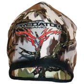 Predator Reversible Fleece Beanie, One Size, Brn/Grn Dcptn