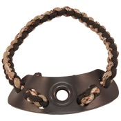 Xfactor Diamond Wrist Sling, Black/Tan