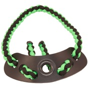 Xfactor Diamond Wrist Sling, Black/Green