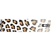 """Bohning HD Wrap - White Leopard, 4"""", 13/pk., Carbon"""