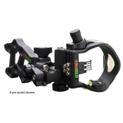 TruGlo Rival Hunter DDP Sight w/Light, Black, 1.029,1.019,1.010, RH/LH