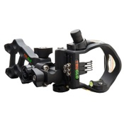 TruGlo Rival Hunter DDP Sight w/Light, Black, 1.029,2.019,2.010, RH/LH