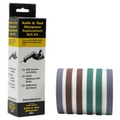 Darex Work Sharp Knife & Tool Assorted Belt Accessory Kit