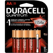 Duracell Lithium Battery - AA, 8/pk.