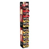 Duracell Display - Cubby Strip, 4/pk.