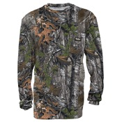 Walls Legend L/S Pocket Tee, Md, Realtree AP Extra