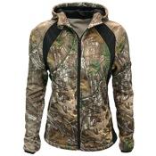 Walls Womens Full-Zip Fleece Jacket, Sm, Realtree AP Extra