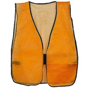 Jacob Ash Mesh Safety Vest, One Size, Blaze