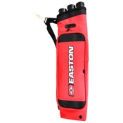 Easton Flipside 3-Tube Hip Quiver, Red, RH/LH