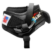 T.R.U. Ball Web Replacement Leather Strap, Lg, Black, Buckle