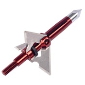 "Dead Ringer Rampage 3 Blade Broadhead, 100/125gr., Replacement Blades ONLY, 1 1/2"" Dia."