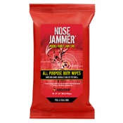 "Nose Jammer All Purpose Body Wipes, 8""x6"", 20/pk."