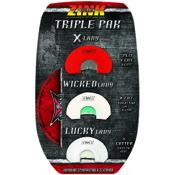 Zink Triple Pak Diaphragm Calls, 3 call set