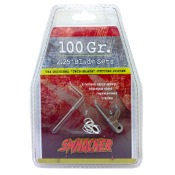 "Swhacker Broadhead - 125gr., 6/pk., 125gr., REPLACEMENT BLADES ONLY , 2 1/4"" Dia."