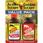 Wildlife Research Active-Scrape-Golden Scrape Combo