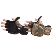 Manzella Bowhunter Convertible Glove/Mitten, Lg, APX, Thinsulate
