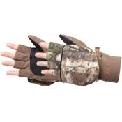 Manzella Hunter Convertible Glove/Mitten, Lg, APX, Thinsulate