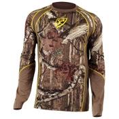 Robinson ScentBlocker Performance 1.5 L/S Shirt w/Trinity, Lg, APX