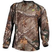 Robinson ScentBlocker 8th Layer L/S Polyester Shirt w/S3 Silver, 2X, APX