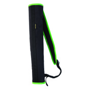 "Allen Compact Back Quiver, 19"", Green, RH/LH"