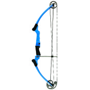 "Genesis, 15-30"" Draw Length, 10-20lb, Blue, LEFT HAND"