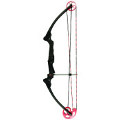 "Genesis Pro - Red Cam, 15-30"" Draw Length, 15-25lb, Black, LEFT HAND"